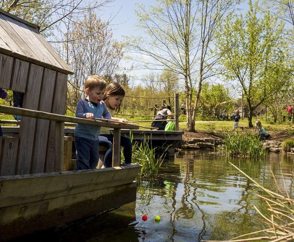 Year-round fun at the Kentucky Children's Garden