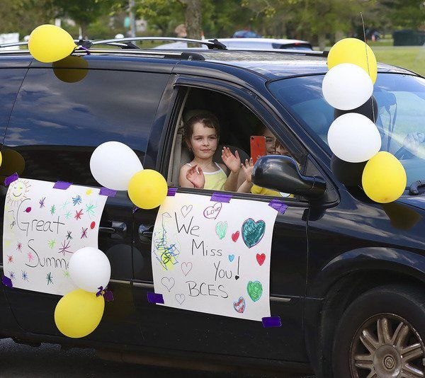 'SCHOOL'S OUT' Berea Community Elementary says goodbye to students