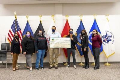 EKU veterans office receives donation