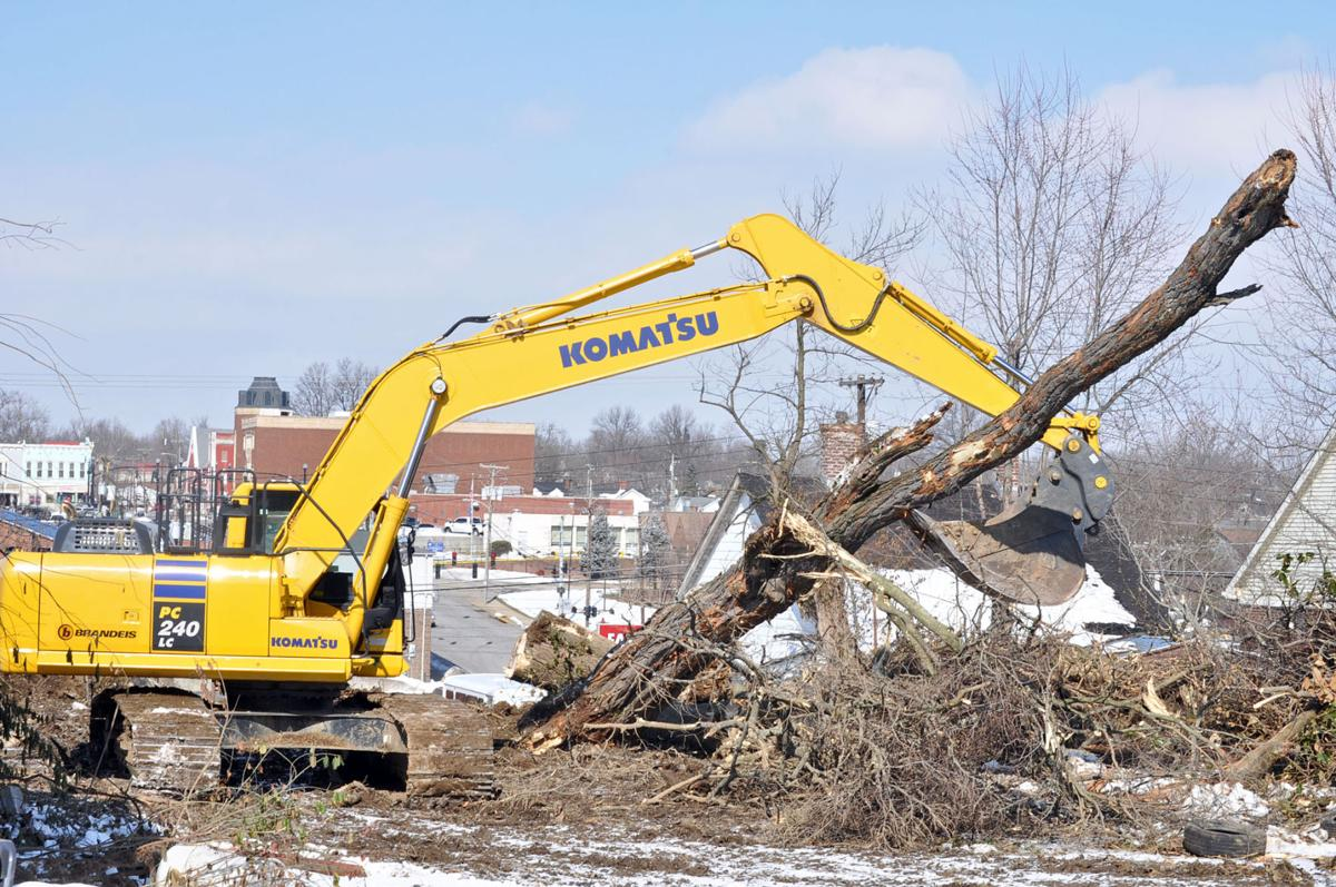 excavation underway for new cvs downtown local news