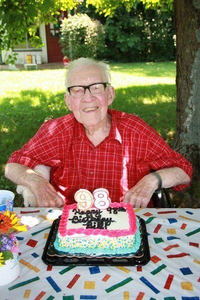 Local veteran turns 98