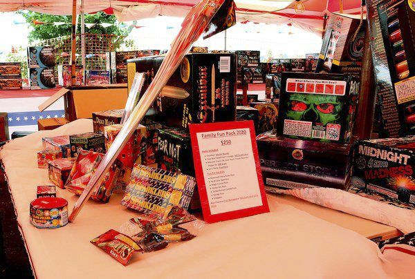 BOOM: Fireworks stand a yearly tradition for coaches