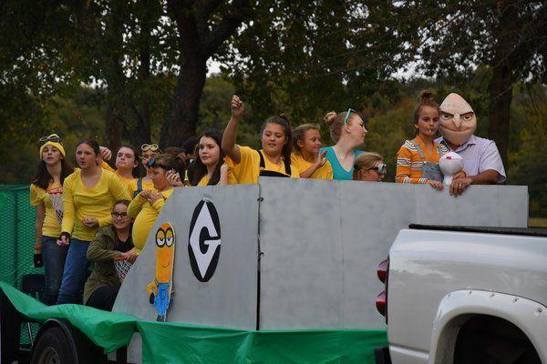 PHOTOS: Southern homecoming parade