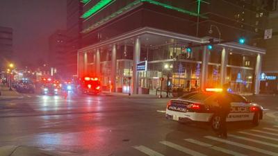 Lexington downtown evacuation