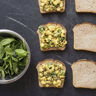 To kick up your chicken salad, turn to your spice rack
