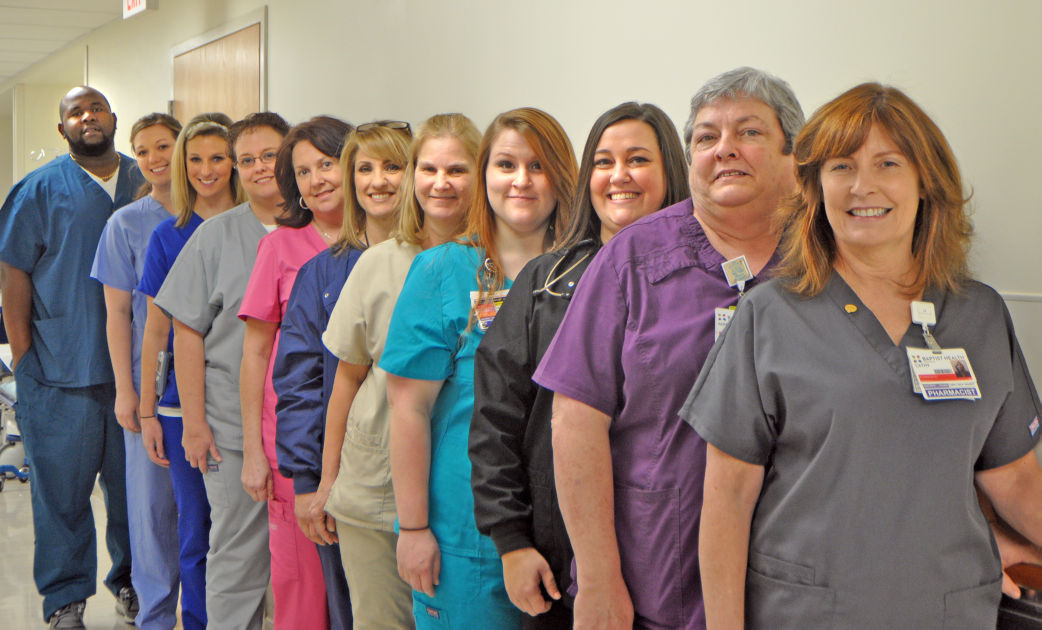 b1ff92d31dc9d Baptist Health unveils new color-coded uniforms | News ...