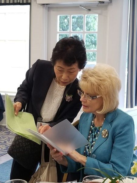 Japanese visitors welcomed to Madison County