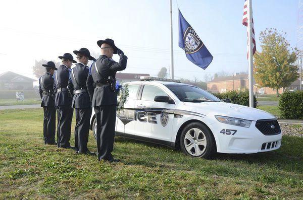 Four years later:<span>Remembering officer Ellis</span>