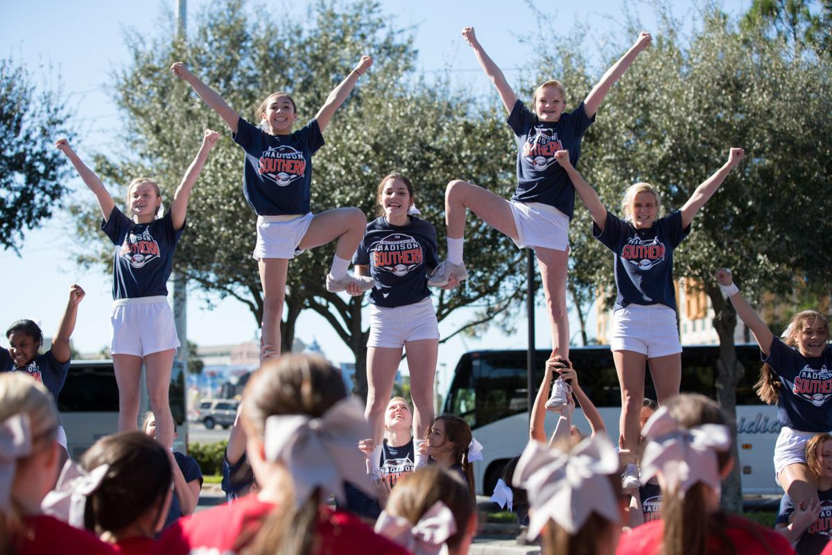 Madison Southern Pyramid Practice