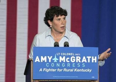 McGrath working to reach rural voters