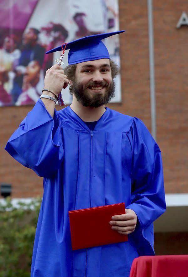 Model honors Class of 2020 with unusual ceremony