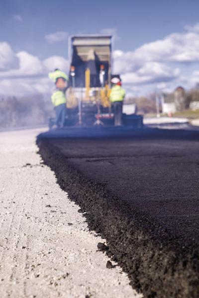 road paving resurfacing