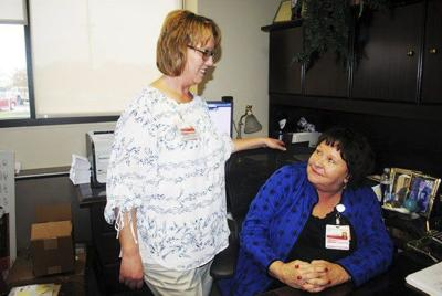 Joy Benedict is celebrating 40 years at Richmond's hospital and loving it