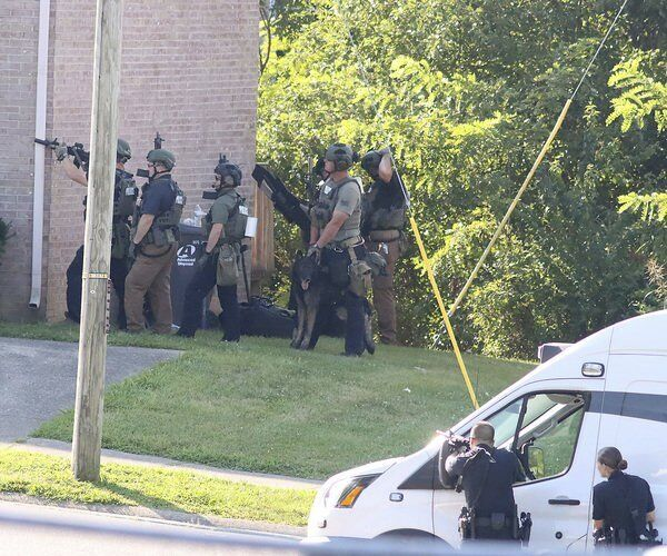 Richmond couple killed, shooter surrenders after four-hour standoff