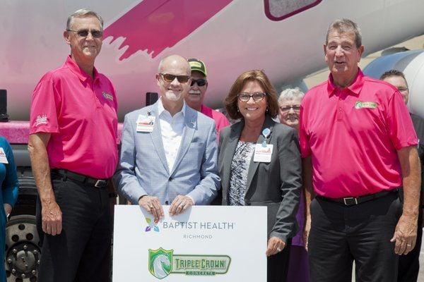 Baptist Health Richmond, Triple Crown Concrete raise awareness for breast cancer