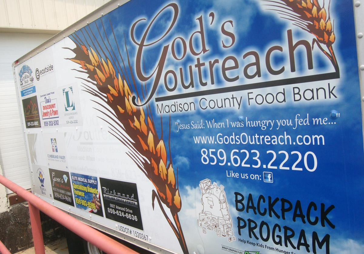 Catching your eye food bank truck has dual purpose news for Food pantry richmond ky
