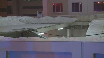 Lexington parking garage collapse
