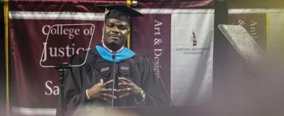 EKU commencement speaker celebrates humble beginnings