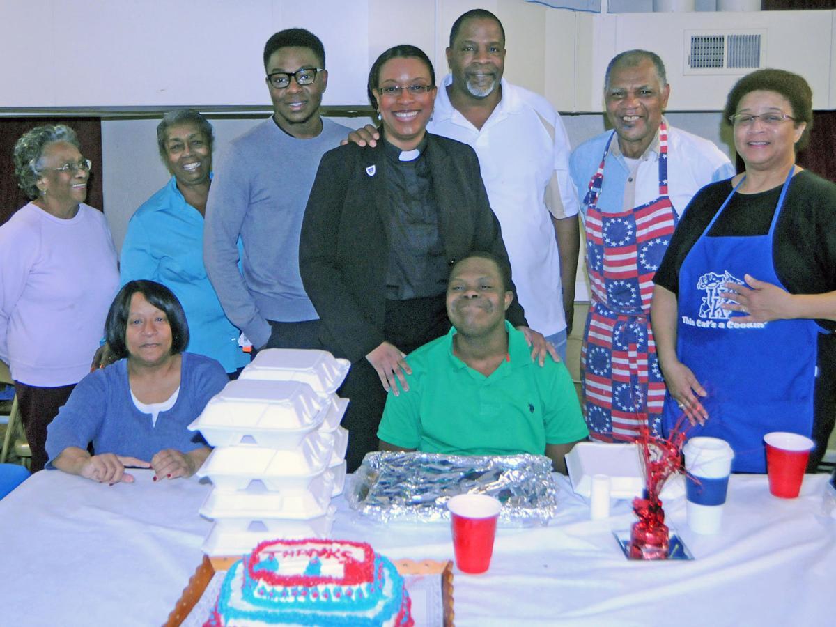St. Paul AME Church community appreciation meal