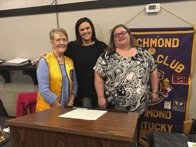 Liberty Place representatives speak to Lions Club