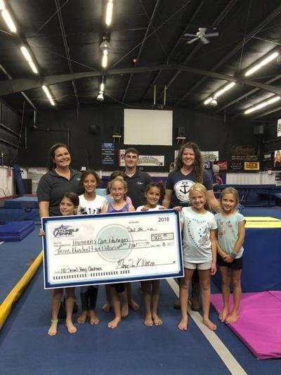 Tumbleshine Athleticsraises funds