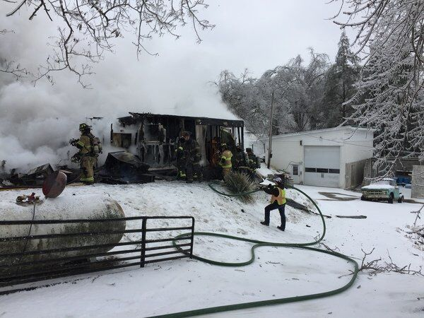 Newby home a complete loss after fire