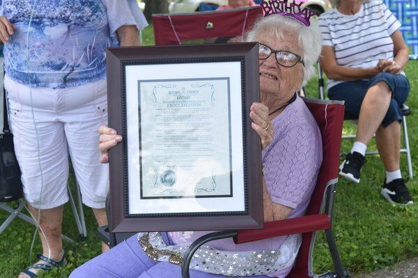 Madison County wishes Macie Eades a happy 100th birthday