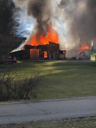 Fire tears through woodworking shop in Berea
