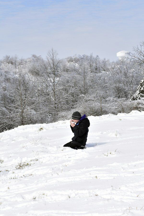Be Prepared:<span>Boy Scout Troop 2014 camps out in single digit weathers</span>