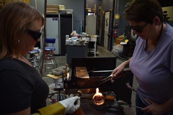 Weston Glass Studio gives the gift of creativity