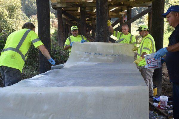 Research group uses hemp to fix bridges
