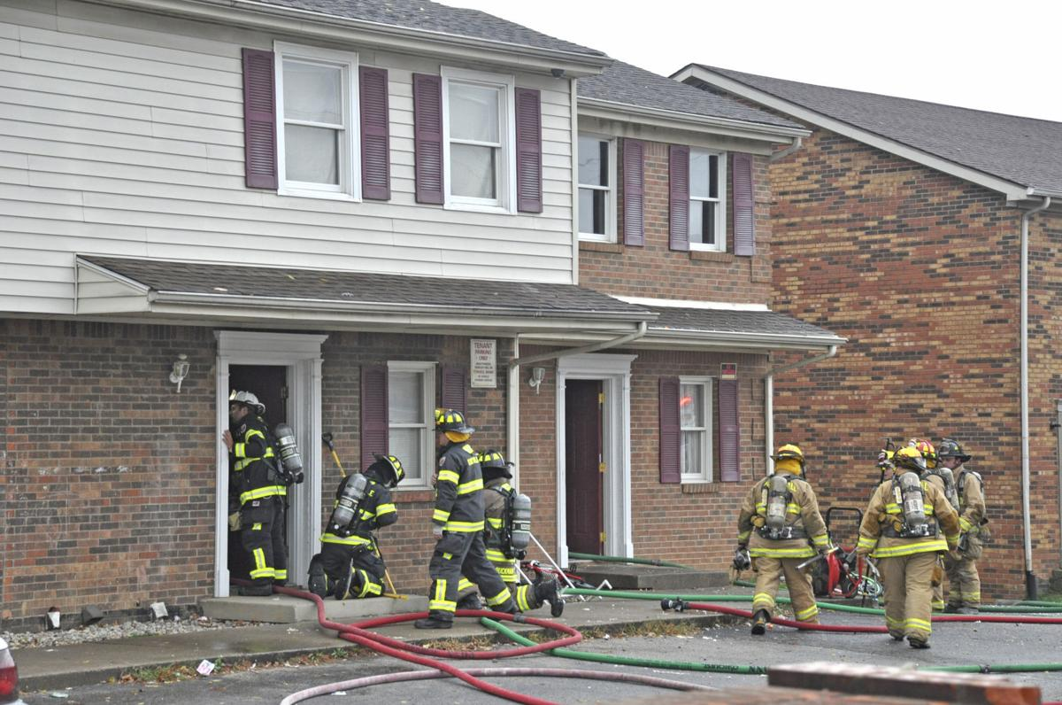 Amazing Firefighters Battle Flames In Apartment Fire News Home Interior And Landscaping Spoatsignezvosmurscom