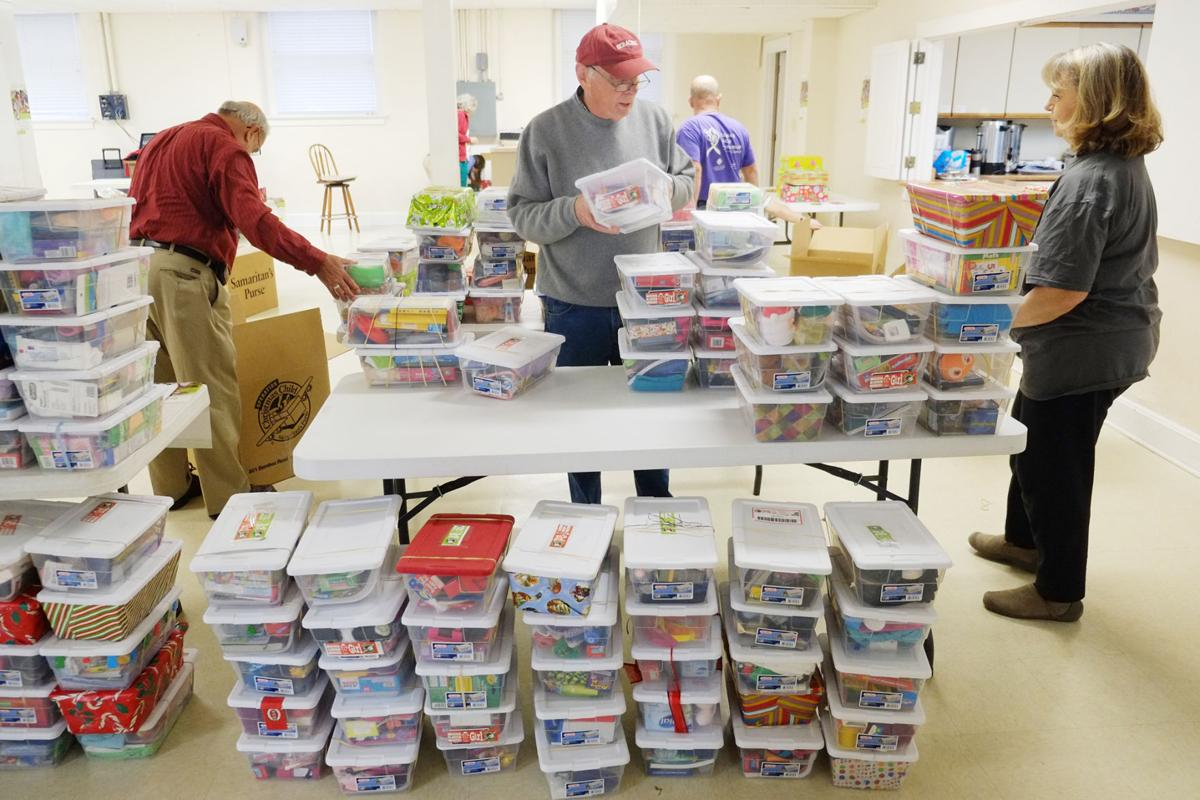 Operation Christmas Child volunteers spread the spirit of giving ...