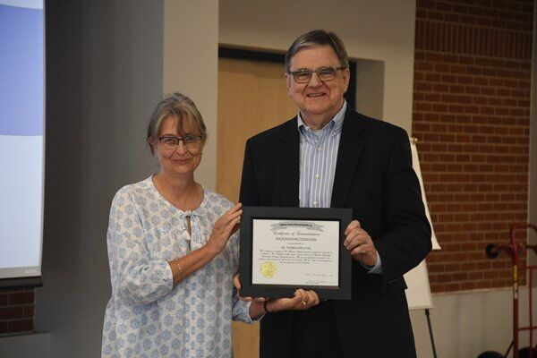 Madison County Historical Society presents honorary awards