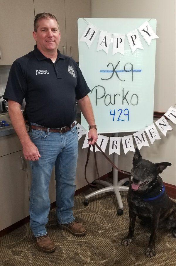 Berea Police Department bids happy retirement to Parko