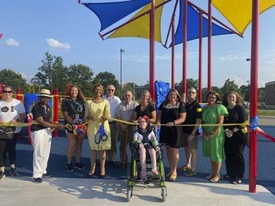 Berea Schools' all-inclusive playground officially opens
