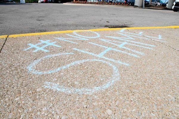 Chalk the Walk raises awareness for suicide prevention
