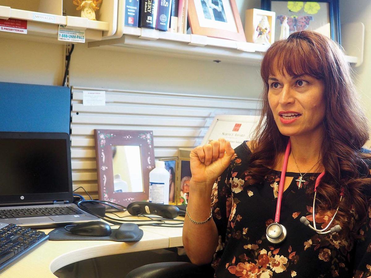 Yolanda Salazar in Espanola hosp office.jpg
