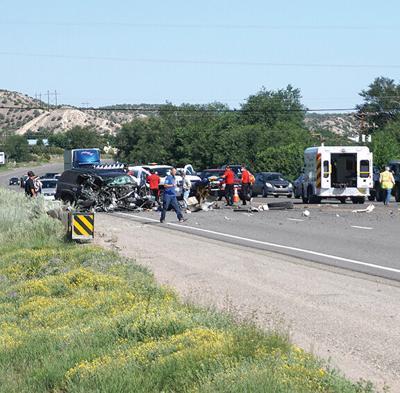 Propane Truck Crash