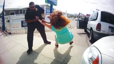 Greg Esparza flips woman