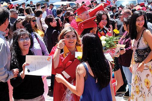 Famiy and graduates