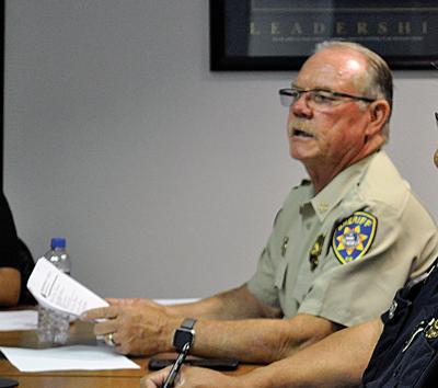cops Sheriff James Lujan wants to stop police blotter.jpg