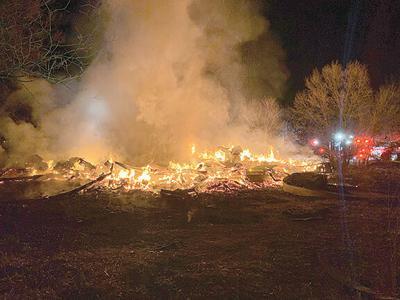 Monterey Lane fire