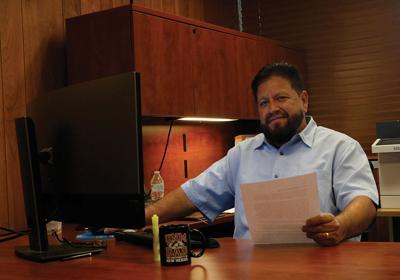 Jemez Mountains Electric Cooperative interim manager Andrew Chávez