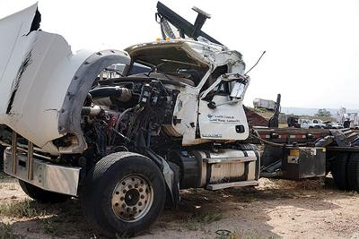 Wrecked roll-off