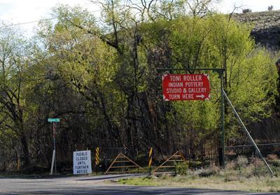 Santa Clara Pueblo closed