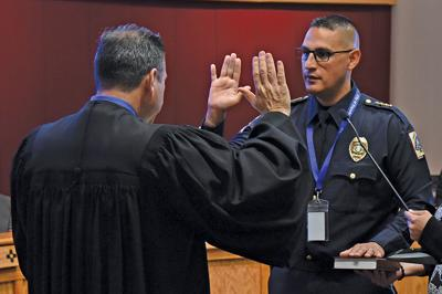 Jimenez interim chief swearing in