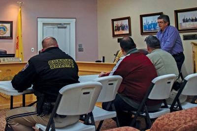 juvenile jail contract county commission meeting