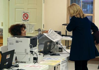 county clerk asks for absentee voting