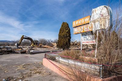 Arrow Motel demolished